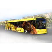 Брендирование автобусов фото
