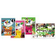 Детский журнал 365 цветных наклеек фото