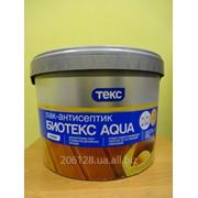 Лак-антисептик на водной основе орегон БиоТекс Aqua Профи Текс 9 л фото