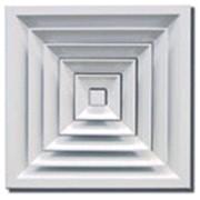 Решетка потолочная вентиляционная алюминиевая ВР-П фото