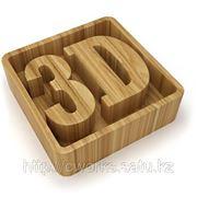 3D гравировка фото
