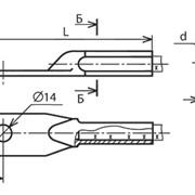 Зажим аппаратный прессуемый А1М-70-2 фото