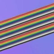 Кабели электрические плоские изолированные фото