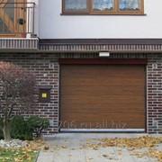 Гаражные ворота бытовые RSD01 3.00х2.50, автоматические, пульт ДУ фото