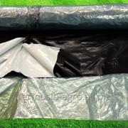 Пленка силос. черная 6х120мкм 50м 1с фото