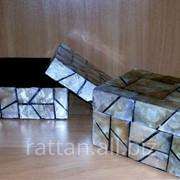 Коробочка для украшений квадратная фото