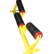 Роликоопоры желобчатые с углом наклона боковых роликов (10-45) по требованию заказчика фото