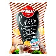 Снеки картофельные PATELLA Chips 80 г. фото