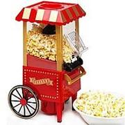 Домашний Аппарат для приготовления попкорна (попкорница) Ретро фото