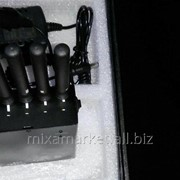 Глушилка GSM/CDMA/DCS/PHS/GPS/3G переносная с охлаждением фото