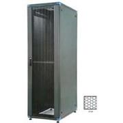 """Шкаф монтажный напольный 19"""" серии LOGIC-2 Арт. 32312942 42U 800х800 перфорированные передние и задние двери фото"""