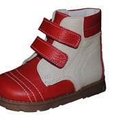 Детская ортопедическая обувь Футмастер.Ботинки девичьи Галлий. фото