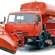 Машина комбинированная ЭД-405 (ПС+ПМ) (шасси КАМАЗ-53215 6x4) фото