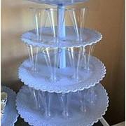 Пластиковые креманки для порционных десертов фото