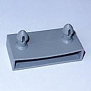 Латодержатель накладной 53 мм серый фото