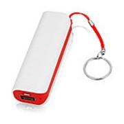 Портативное зарядное устройство (power bank) Basis, 2000 mAh, красный фото