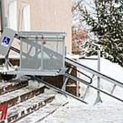 Лестничный подъемник для инвалидов в Брянске фото