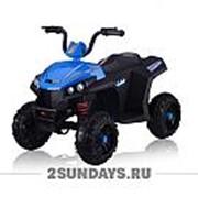 Детский квадроцикл на аккумуляторе T111TT синий фото