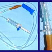 Система инфузионная для переливания растворов фото