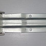 Петля воротная 253 мм широкая скоба фото