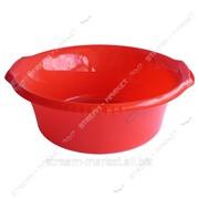 Таз полиэтиленовый для пищевых продуктов 9л цветной круглый №438315 фото