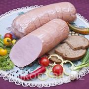 Колбаса вареная «Докторская со сливочным маслицем» высший сорт фото