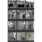 Фасады из песчаника, изготовление и оформление под заказ Киев и область фото