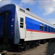 Пассажирский вагон–салон поезда Ретро фото
