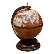 Глобус-бар настольный, сфера 33 см. Ptolemaeus фото