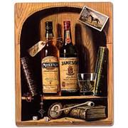 Панно Старый виски/Натюрморт 45х56см. арт.T68-2 фото