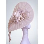"""Свадебная шляпка """"Илона"""" (Арт. 002) фото"""