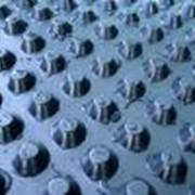 Геомембраны дренажные фото