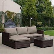 Комплект мебели AFM-4025B Brown фото