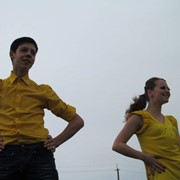 Обучение танцам прямо во время мероприятия фото