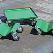 Платформы на колесах зелёные фото