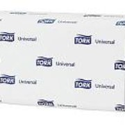 Полотенца бумажные Tork Classic листовые, 1-слойные, Н3 Singlefold ZZ-сложения, 250л, белые 120108 фото