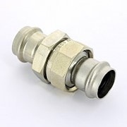Муфта пресс-В нержавеющая сталь Sanpress Inox VIEGA 28 фото