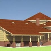 Гостиницы из деревянного бруса фото