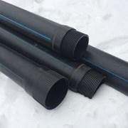 Обсадная труба для скважин D 125 мм пластиковая с  фото