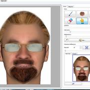 Система для составления субъективного 3D-портрета разыскиваемого лица ПАПИЛОН КLIM-3D фото