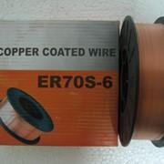 Сварочная проволока омеднённая ER70S-6 (аналог СВ08Г2С) 0,8 мм, 5кг фото