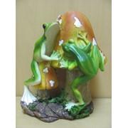 Фигурка Лягушонок-дачник с лопаткой-вис.ножки, арт. 211036Д фото