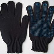 Перчатки рабочие 7 класс (7 нитей, 300 текс) с ПВХ фото