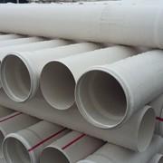 Труба ПВХ канализационная ⌀160 мм 3,6 мм 1 м фото