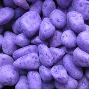 Декоративный камень фиолетового цвета для ланшафтного дизайна фото