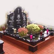 Ритуальные комплексы из габбро и гранита фото