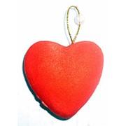Сердце пенопласт на присоске 2219 4,5x4,5см фото