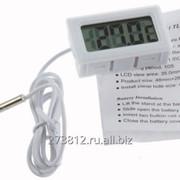 Новый. Цифровой термометр Н155 с выносным датчиком 1 метр фото