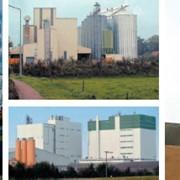 Силосы для зерна. Строительство силосных установок и элевaторов. фото