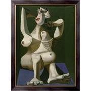 Картина Женщина, убирающая волосы, Пикассо, Пабло фото